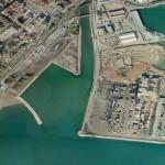 Marina deportiva de San Andres puerto de Malaga
