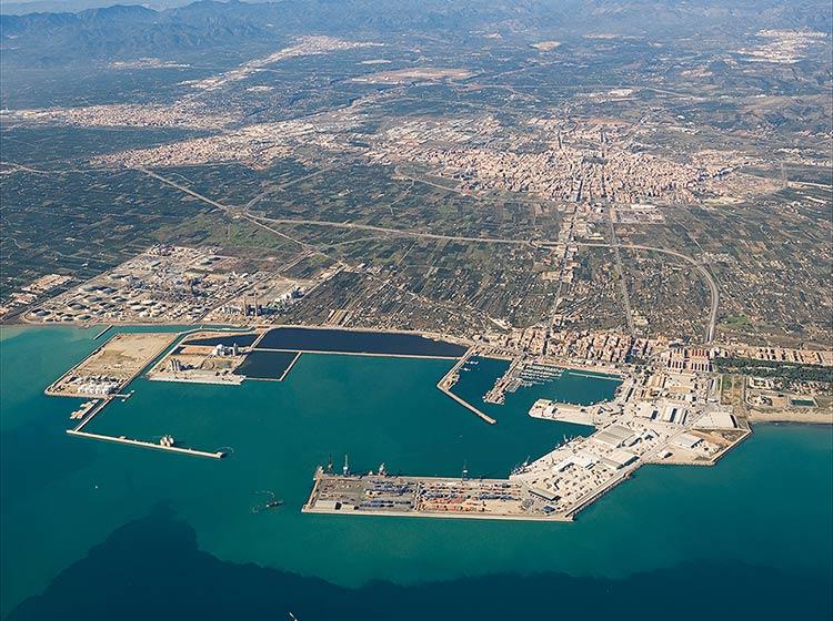 Dársena sur del Puerto de Castellón