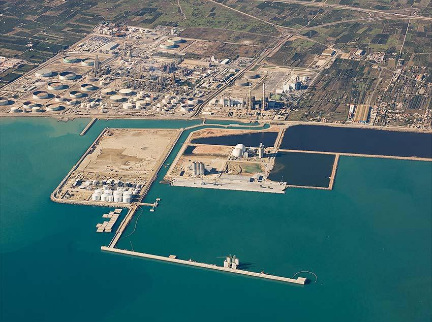 Ampliacion darsena sur puerto de Castellon