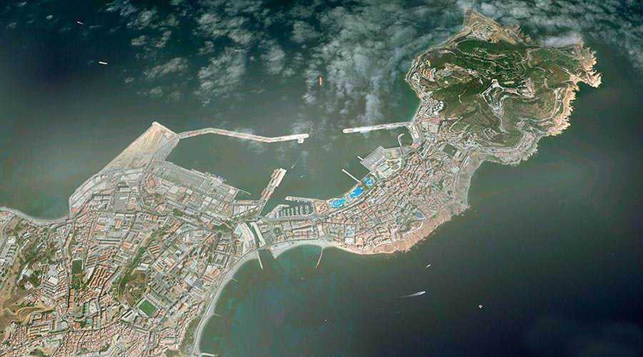 Muelle para Cruceros turísticos,  Puerto de Ceuta