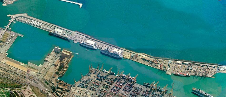 Extensión del Muelle adosado del Puerto de Barcelona