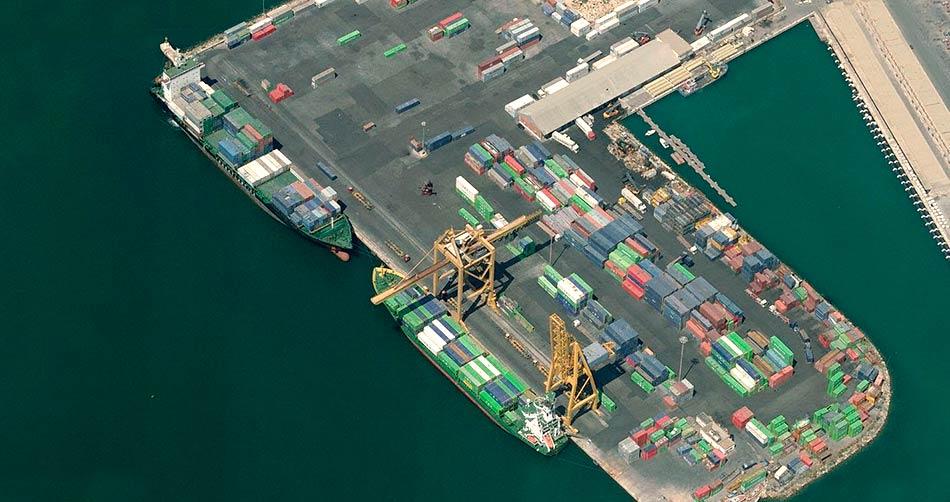 Muelle nº 15 para buques portacontenedores del Puerto de Alicante