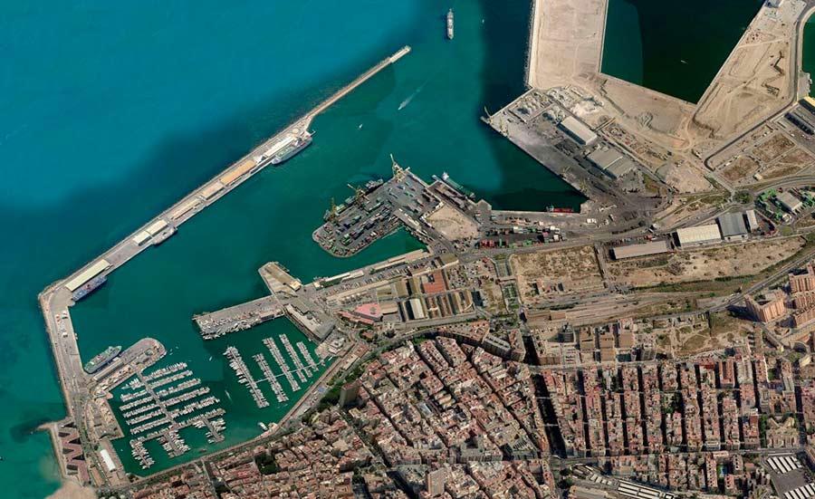 Muelle buques portacontenedores Alicante