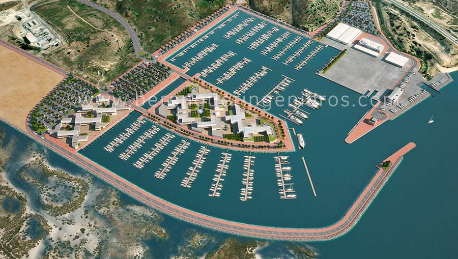 Marina de Esuri en Ayamonte, Huelva