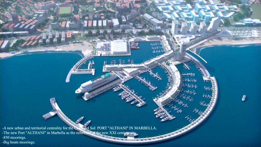 Proyecto del nuevo Puerto deportivo de Marbella