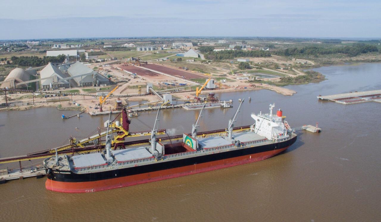 Expansión de la Terminal portuaria de Nueva Palmira, Uruguay.